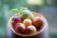 Vegetarisch ontbijt Royalty-vrije Stock Afbeelding