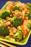 Vegetarisch Rühren-Braten Sie Siamesisch-Art lizenzfreie stockbilder