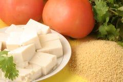 Vegetarisch voedsel Stock Afbeeldingen