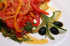 Vegetarisch voedsel Stock Fotografie