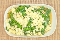 Vegetarisch voedsel, Stock Foto