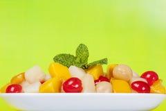 Vegetarisch voedsel Royalty-vrije Stock Afbeelding