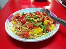 Vegetarisch voedsel Royalty-vrije Stock Afbeeldingen