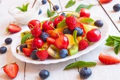 Vegetarisch voedsel Stock Foto