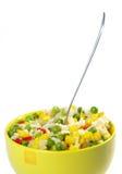 Vegetarisch voedsel. Risotto Royalty-vrije Stock Afbeeldingen