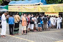 Vegetarisch voedselfestival Royalty-vrije Stock Foto