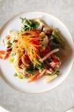 Vegetarische aspergesalade Royalty-vrije Stock Foto's