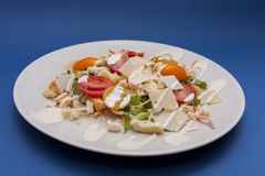 Vegetarische Caesar-salade Stock Afbeelding