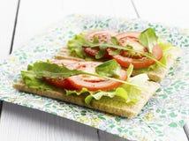 Vegetarische Canape Stock Fotografie