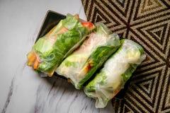 Vegetarische de lentebroodjes royalty-vrije stock afbeelding