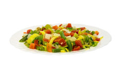 Vegetarische de lentesalade Stock Fotografie