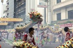 Vegetarische Festival-Parade Lizenzfreies Stockbild