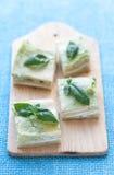Vegetarische lasagna's Stock Fotografie