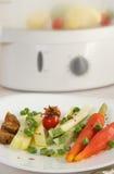 Vegetarische low-calorie lunch royalty-vrije stock fotografie