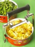 Vegetarische lunchdoos Stock Foto