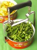 Vegetarische lunchdoos Stock Afbeelding