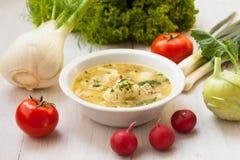 Vegetarische maaltijd Royalty-vrije Stock Fotografie