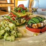 Vegetarische maaltijd royalty-vrije stock foto
