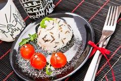 Vegetarische Mahlzeit Lizenzfreies Stockbild