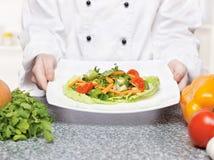 Vegetarische Mahlzeit Lizenzfreies Stockfoto