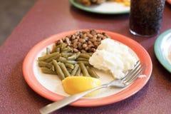 Vegetarische Mahlzeit Lizenzfreie Stockbilder
