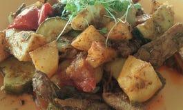Vegetarische Mahlzeit stockfotografie