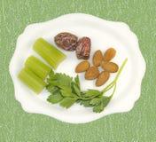 Vegetarische Nahrung Stockbild