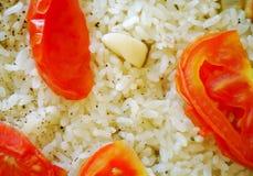 Vegetarische pillau Royalty-vrije Stock Afbeeldingen