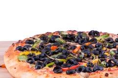 Vegetarische Pizza Lizenzfreie Stockfotografie