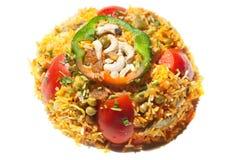 Vegetarische rijst Stock Afbeelding