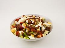 Vegetarische salade Stock Foto's