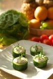 Vegetarische Salade stock afbeeldingen