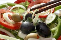 Vegetarische salade stock fotografie