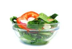 Vegetarische salade Stock Afbeelding
