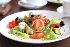 Vegetarische Salade Royalty-vrije Stock Fotografie