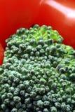 Vegetarische salade dichte omhooggaand Stock Foto