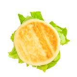 Vegetarische Sandwich Royalty-vrije Stock Afbeelding