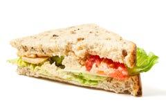 Vegetarische Sandwich Royalty-vrije Stock Foto's
