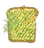 Vegetarische sandwiches royalty-vrije stock afbeeldingen