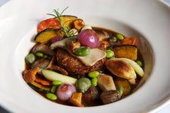 Vegetarische Schotel stock afbeeldingen