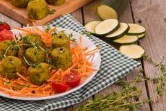 Vegetarische vleesballetjes stock fotografie