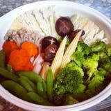 Vegetarische voedselmengeling Royalty-vrije Stock Afbeelding