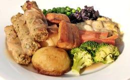 Vegetarische worst Royalty-vrije Stock Afbeeldingen