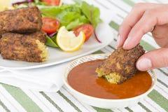 Vegetarische Wurst Lizenzfreie Stockfotos