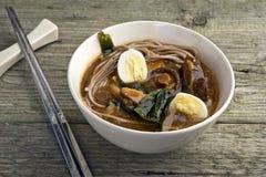 Vegetarischer Curry der japanischen Art mit shitake lizenzfreies stockbild