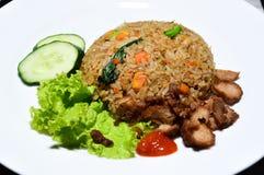 Vegetarischer gebratener Reis Lizenzfreies Stockfoto