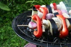 vegetarischer Grill Lizenzfreies Stockfoto