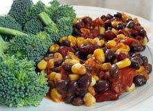 Vegetarischer Paprika stockfotografie