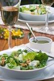 Vegetarisches Abendessen Stockfotos