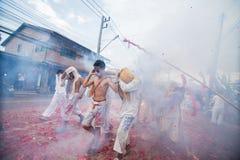 Vegetarisches Festival 2014 Phuket Lizenzfreies Stockbild
